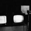Equivalence, 1977, videodrawing installation