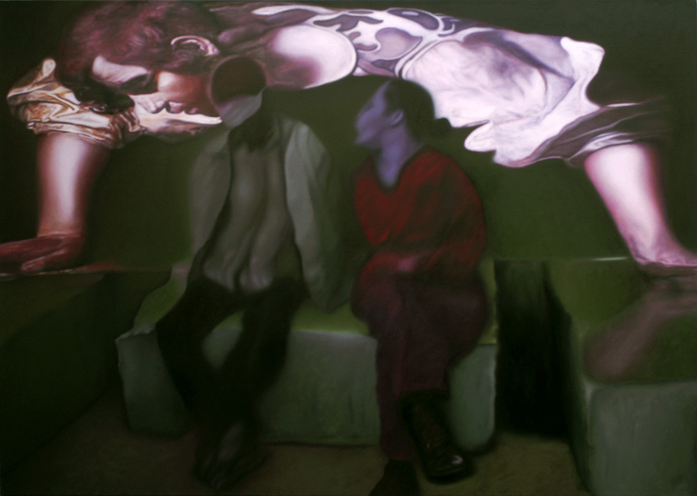 Narcissus, 2010, oil on canvas, 200 x 140cm